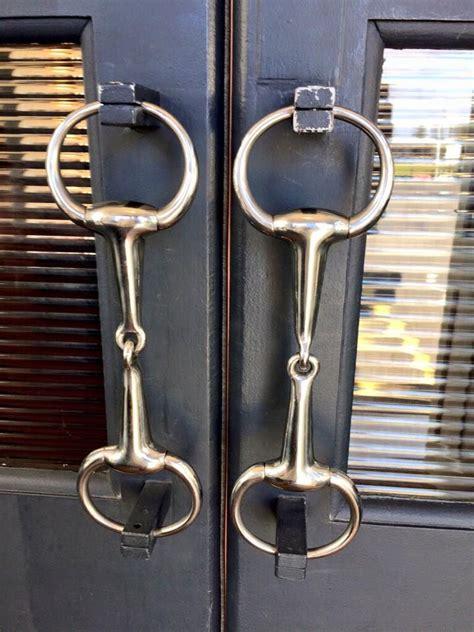 bits  door handles horse barn ideas stables horse