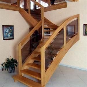 Escalier Quart Tournant Haut Droit : escalier tournant ooreka ~ Dailycaller-alerts.com Idées de Décoration