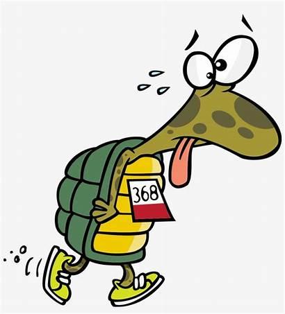 Tired Cartoon Running Runner Clipart Transparent Seekpng