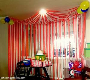 best 25 circus theme decorations ideas on pinterest With simple smart party decoration ideas