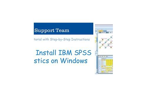 download spss statistics for windows