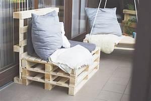 Sitzbank Für Balkon : selbstemachtes sitzbank aus paletten kreativliebe ~ Buech-reservation.com Haus und Dekorationen
