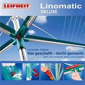 Leifheit Wäschespinne Linomatic : leifheit w schespinne linomatic deluxe 400 500 600 ebay ~ Eleganceandgraceweddings.com Haus und Dekorationen
