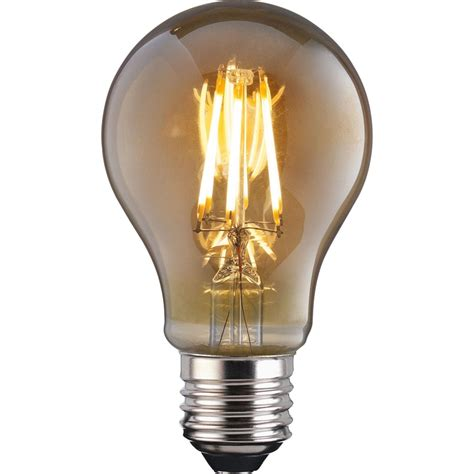 Filament Light Bulbs by Led Filament Classic 6w E27 Vintage Light Bulb Homebase