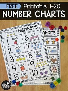 Printable Number Chart For Numbers 1