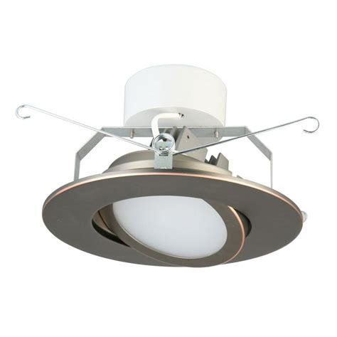 bronze led recessed lighting halo 6 in tuscan bronze recessed lighting adjustable