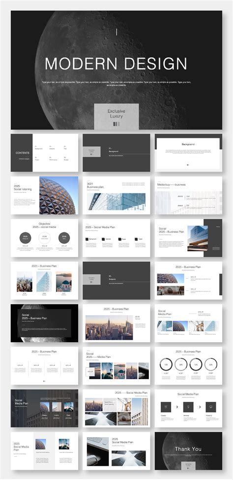 Clean Multipurpose Presentation PowerPoint Template ...