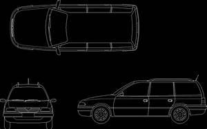 Astra Car Dwg Block For Autocad  U2013 Designs Cad