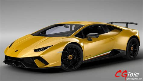 lamborghini huracan performante lp    model max obj