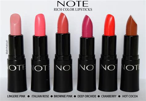 Note Cosmetics Ultra Rich Color Lipstick