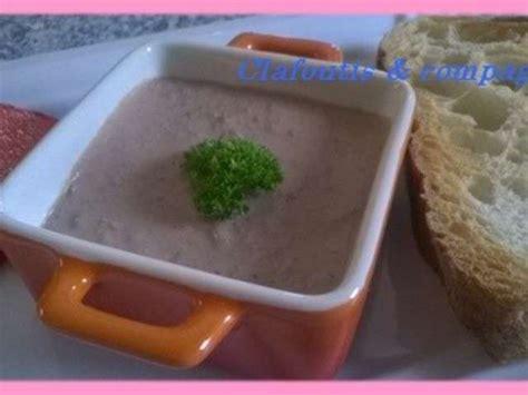 mousse de canapé recettes de mousse de foie de canard