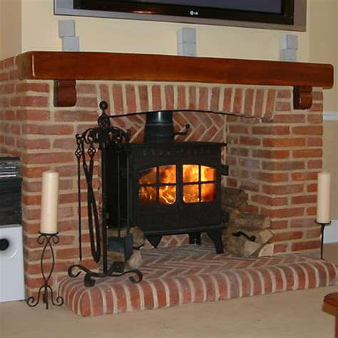 brickwork inglenook style fire surround chimneys