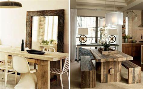 maderas mallorca tendencias en decoracion mesas rusticas