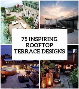 75, Inspiring, Rooftop, Terrace, Design, Ideas