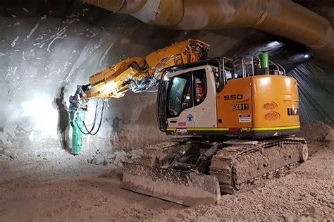 australias  liebherr   tunnel excavators delivered   south wales liebherr