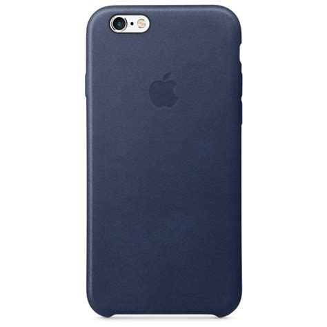 iphone 6s cases iphone 6s leather midnight blue apple uk