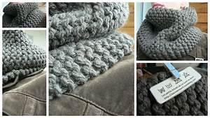 Tricoter Un Plaid En Grosse Laine : comment tricoter la grosse laine ~ Melissatoandfro.com Idées de Décoration