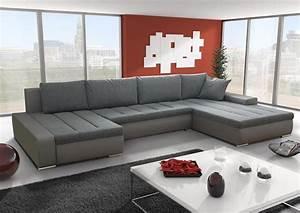 Canapé D Angle Convertible Confortable : canap d 39 angle panoramique convertible la version xxl ~ Melissatoandfro.com Idées de Décoration