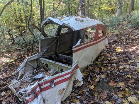 Plane Crash In A Forest Urbanexploration