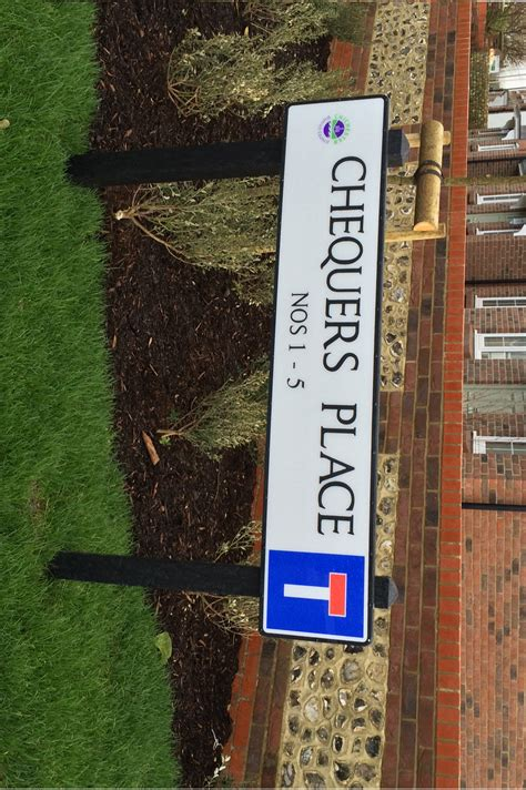 Aluminium Street Sign - Post Mounted (Recycled Plastic ...