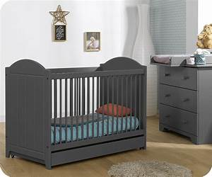 Lit Bebe Gris : chambre bebe gris souris pr l vement d 39 chantillons et une bonne id e de ~ Teatrodelosmanantiales.com Idées de Décoration