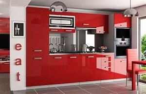 Hochglanz Küche Rot : kaufexpert k chenzeile moderno rot hochglanz 300 cm k che k chenblock arbeitsplatte modern ~ Sanjose-hotels-ca.com Haus und Dekorationen
