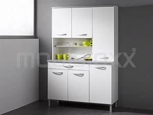 Bahut De Cuisine : buffet bahut serena 6 portes et 1 tiroir blanc chez mobistoxx ~ Edinachiropracticcenter.com Idées de Décoration