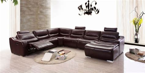 comment nettoyer un canape en cuir marron le canap 233 design italien en 80 photos pour relooker le salon