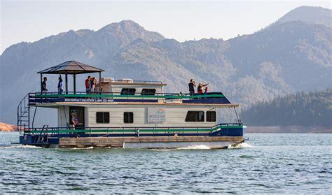 bridge bay resort shasta lake houseboat rentals