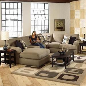 Luxurious sectional sofa design by best home furnishings for Living room with sectionals