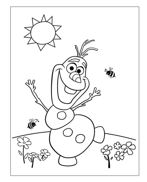 Frozen Olaf Coloring Page Frozen Coloring Pages Coloring Rocks Free Frozen