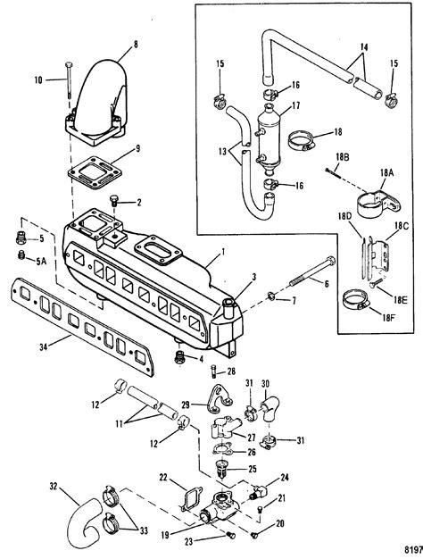 1978 Mercruiser 898 Wiring Diagram by каталог запчастей Mercruiser остальные 3 0lx Gm 181 I L4