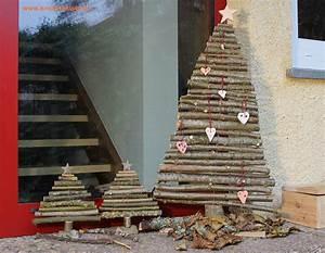 Deko Weihnachtsbaum Holz : diy weihnachtsbaum aus sten basteln deko weihnachten sterne x mas deko pinterest ~ Watch28wear.com Haus und Dekorationen