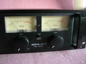 Optimus Stereo Amplifier 250 Watt Model Mpa