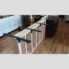 Countertop Support Bracket  Center Levered For Bar Tops