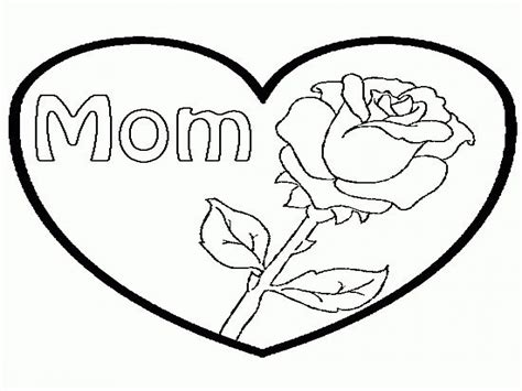 Sad Heart Coloring Pages Hearts And Roses Rose Drawing