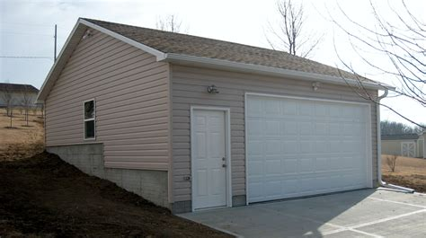 The Garage by Poured And Block Foundation The Garage Company