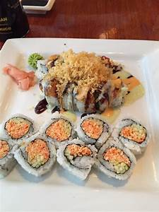 A crunch munch roll and spicy crab roll - Yelp