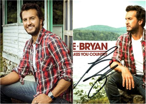 Win An Autographed Copy Of Luke Bryan's 'what Makes You