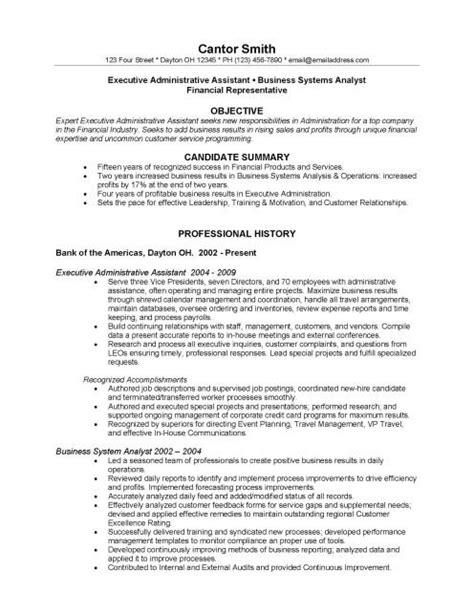 Resume For Financial Services Industry by How To Format A Resume For The Financial Industry