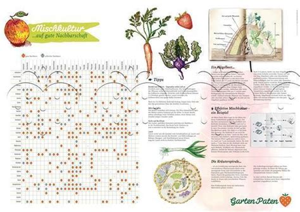 Mischkultur Poster  Mischkulturtabelle Zu Kaufen Bei