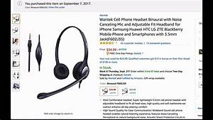 Wantek Noise Cancelling Microphone Headset Review