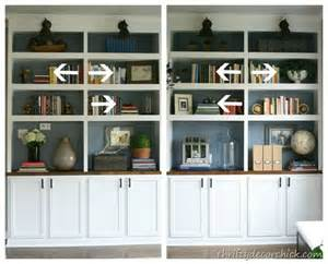 How to Decorate Living Room Bookshelves