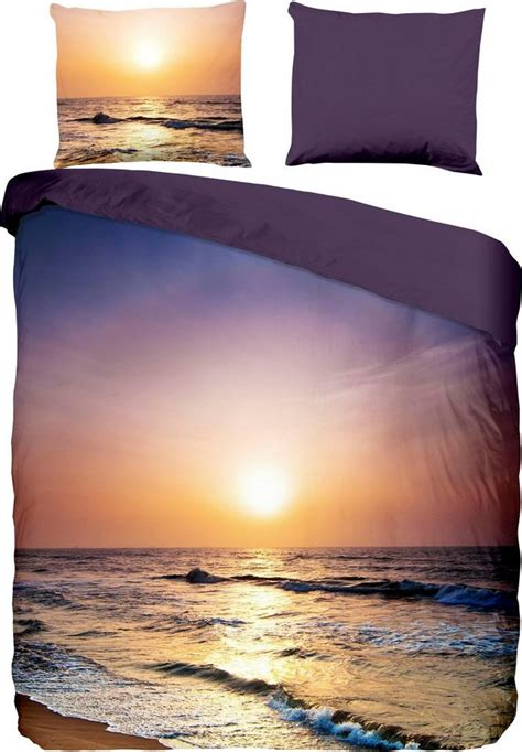 wendebettwaesche sunset pure luxury collection mit