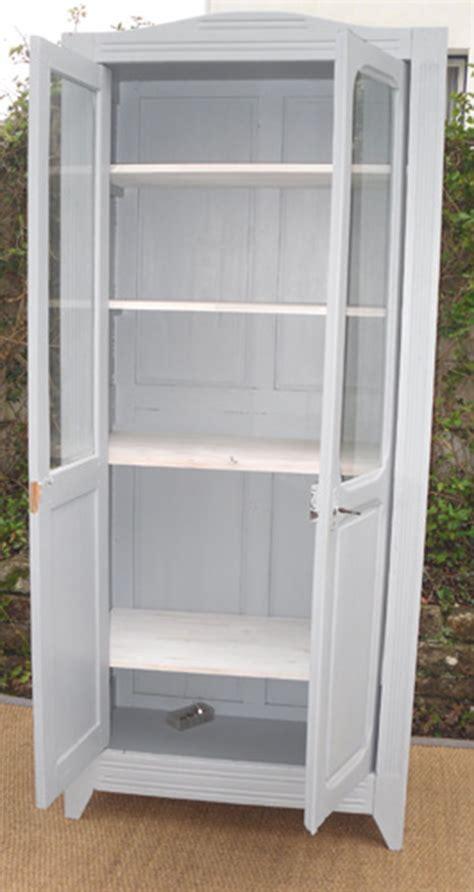 jolie petite armoire ancienne avec portes vitr 233 es id 233 ale