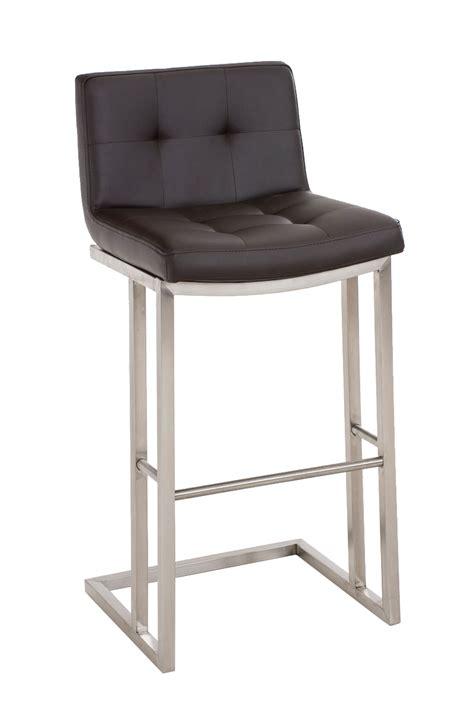 bar stool carlton e78 faux leather steel kitchen breakfast