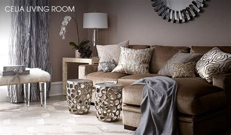 Taupe Gray Living Room by Living Room Chagne Grey Taupe Gold Silver