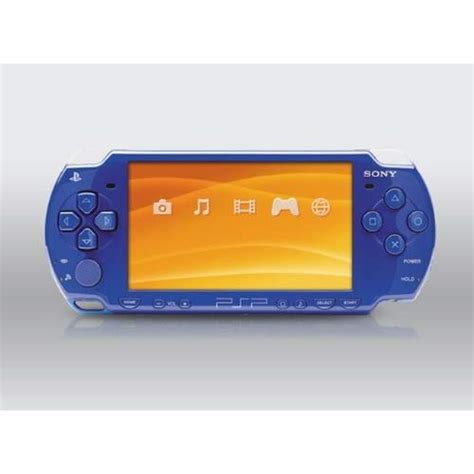 Psp 2001 Blue Slim Playstation Portable Portable System