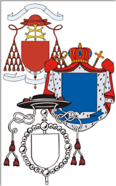 heraldry clipart shields crowns crests  vector