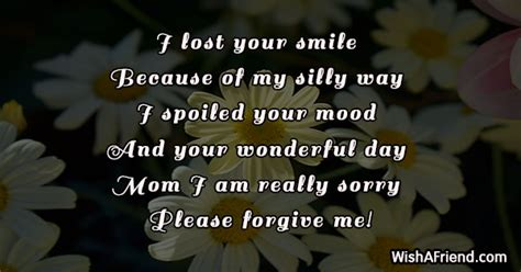 lost  smile      message  mom